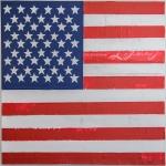 USA, ACRYLIQUE SUR TOILE, 100X100CM, 2015